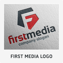 First Media Logo Template