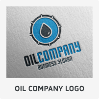 Oil Company Logo Template