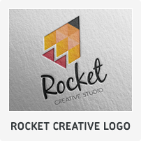 Rocket Creative Logo Template